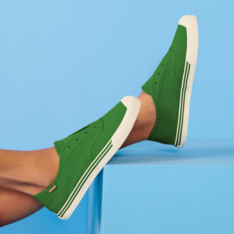 [Pré Venda] Slip On Verde Lona Alê Colors