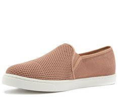 Tênis Slip On Tricot Lily Rosa Antique