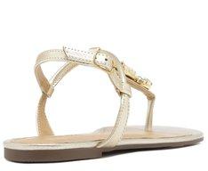 Sandália Pedrarias Dourada