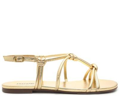 Sandália Dourada Nós