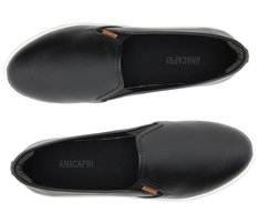 Tênis Slip On Preto Personalizável