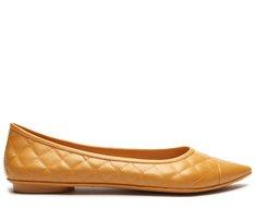 Sapatilha Amarela Matelassê