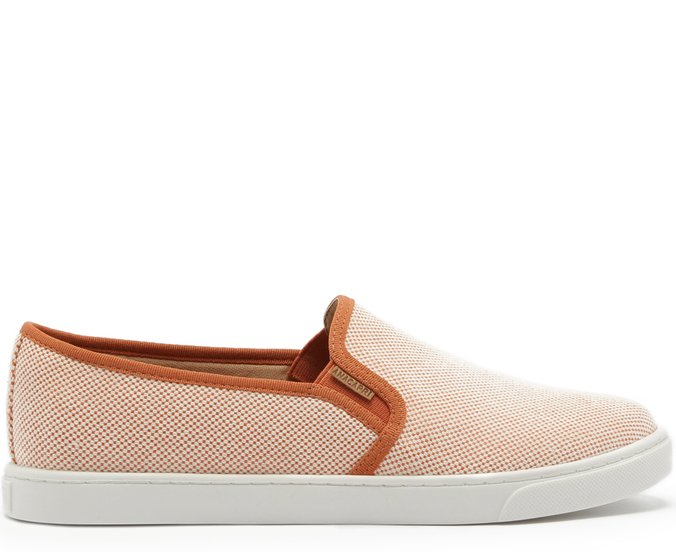 Tênis Slip On Tramado Damasco