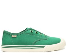 Slip On Verde Lona Alê Colors