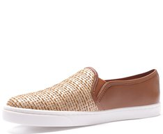 Tênis Slip On Palha Natural