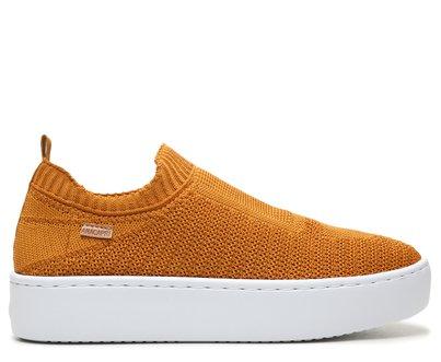 Slip On Amarelo Knit Flatform