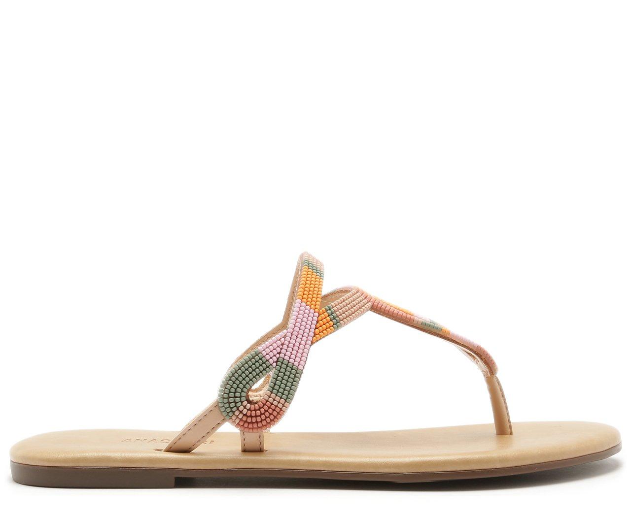 Rasteira Relevo Multicolor | Anacapri