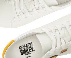 Tênis Capri Smiley Lateral Branco