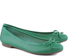 Sapatilha Furadinha Verde