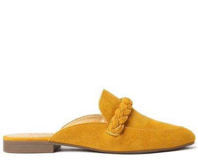 Mule Amarela Trança