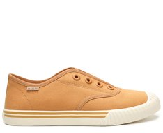 Slip On Caramelo Lona Alê Colors