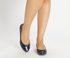 Sapatilha Azul Marinho Verniz