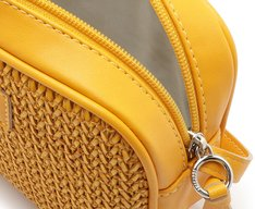 Crossbody Paris Tramado Amarelo