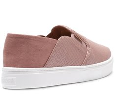 Tênis Slip On Baby Snake Rosa Antique