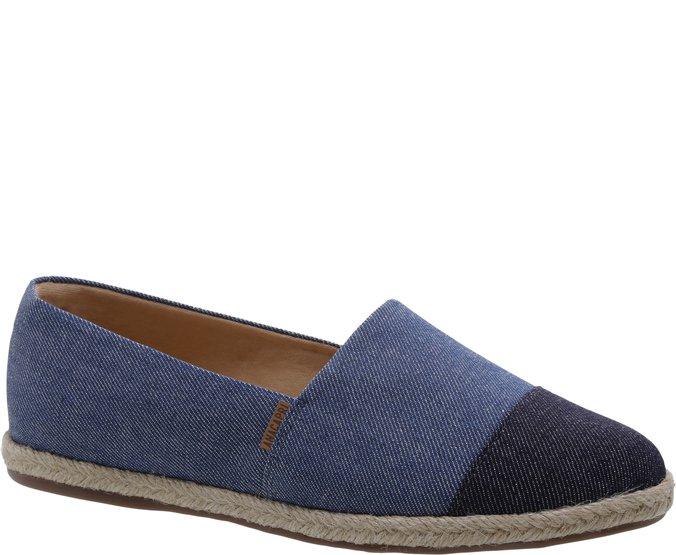 Espadrille Jeans Bicolor