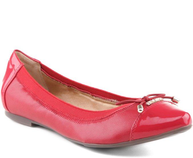 Sapatilha Elástico Vermelha