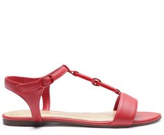 Sandália Resina Vermelha