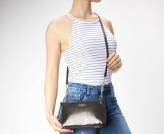 Crossbody Chumbo Metalizada