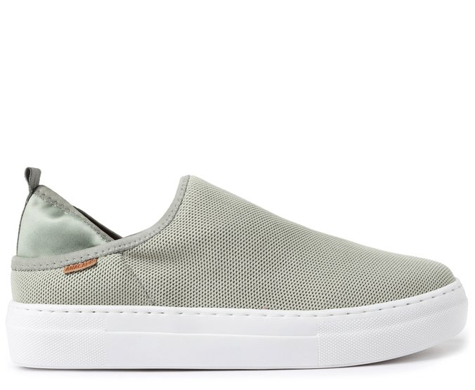 Slip On Verde Sálvia Stretch