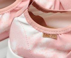 Tênis Slip On Rosa Tie-Dye Vivi