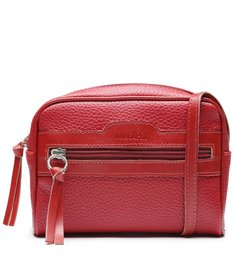 Crossbody Vintage Vermelha