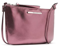 Crossbody Rosa Metalizada