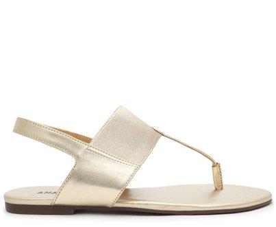 Sandália Dourada Elástico