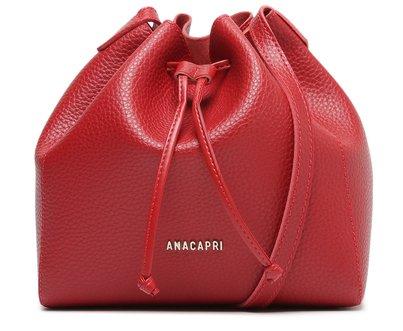 Bolsa Bucket Vermelha Clássica Média
