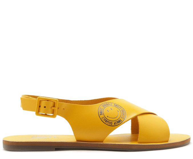 Sandália Capri Smiley Amarela