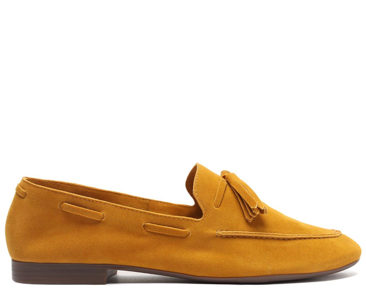 Mocassim Amarelo Barbicacho | Anacapri