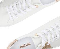 Tênis Branco e Dourado New Ana