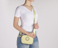 Crossbody Smiley Lona Lima