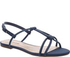 Sandália Nós Azul Cobalto