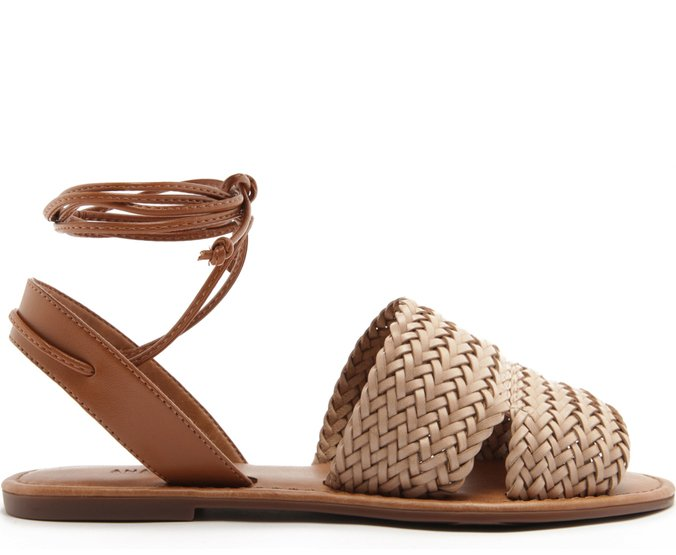 Sandália Tranças Blush