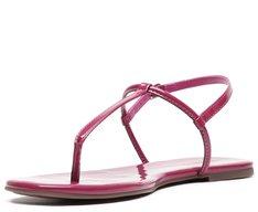 Rasteira Slim Verniz Pink