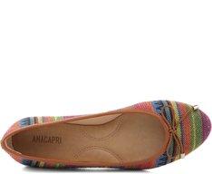 Sapatilha Jacquard Étnico Multicolor