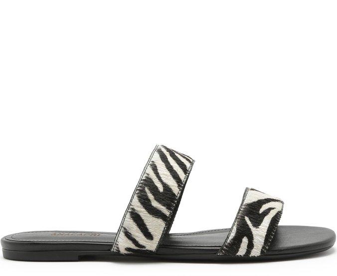 Rasteira Tiras Zebra
