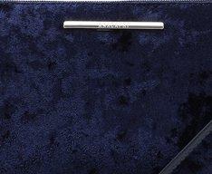 Crossbody Azul Marinho Veludo