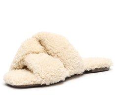 Rasteira Branca Pelo Comfy