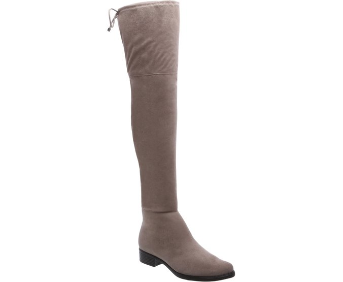 Bota Over The Knee Cinza | Anacapri