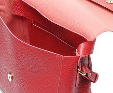 Bolsa Tote Vermelha Grande Básica