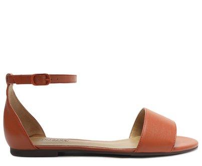 Sandália Laranja Minimal
