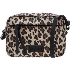 Crossbody 2 em 1 Lona Animal Print