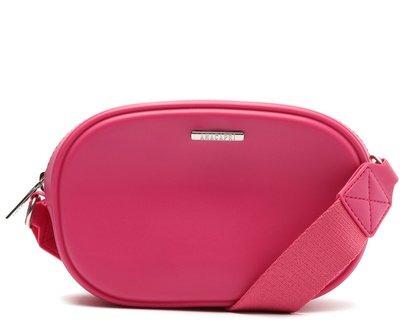 Crossbody Rosa Pink PVC Média