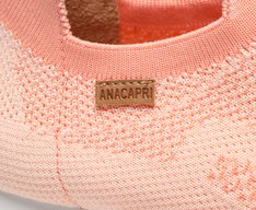 Tênis Laranja Peach Knit