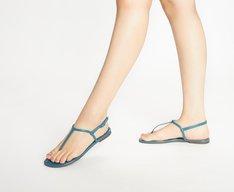 Sandália Slim Verniz Pacífico