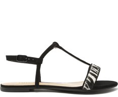 Sandália Tiras Zebra