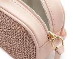 Crossbody Paris Tramado Blush