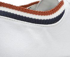 Tênis Branco Logo Lona