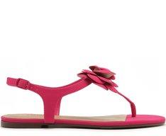 Sandália Flor Pink